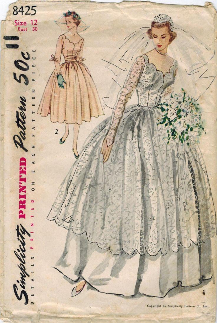 Victorian style wedding dress pattern wedding ideas for Victorian style wedding dress pattern