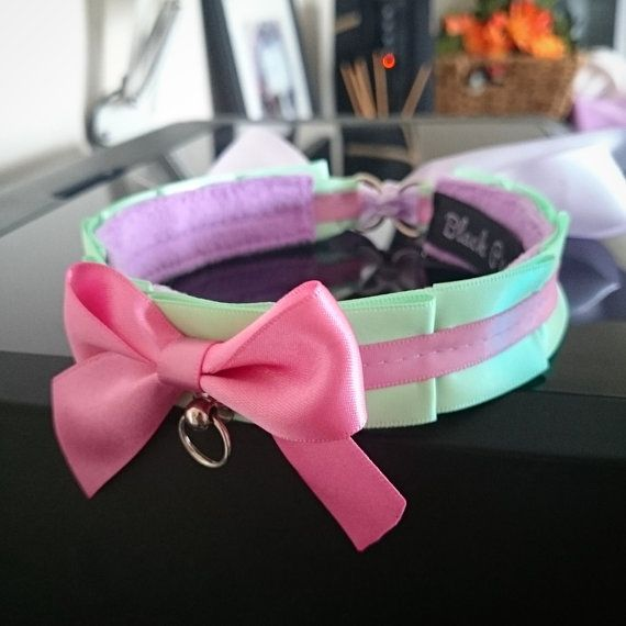 Hey, I found this really awesome Etsy listing at https://www.etsy.com/listing/258649743/mint-rose-pink-collar