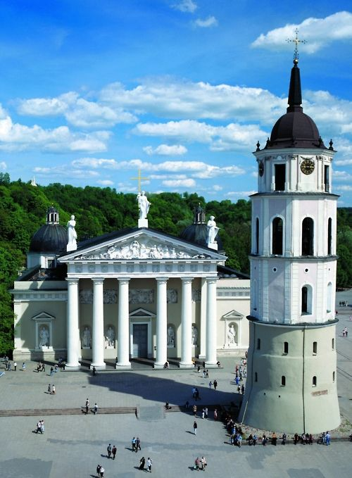 Vilnius Cathedral and Bell Tower