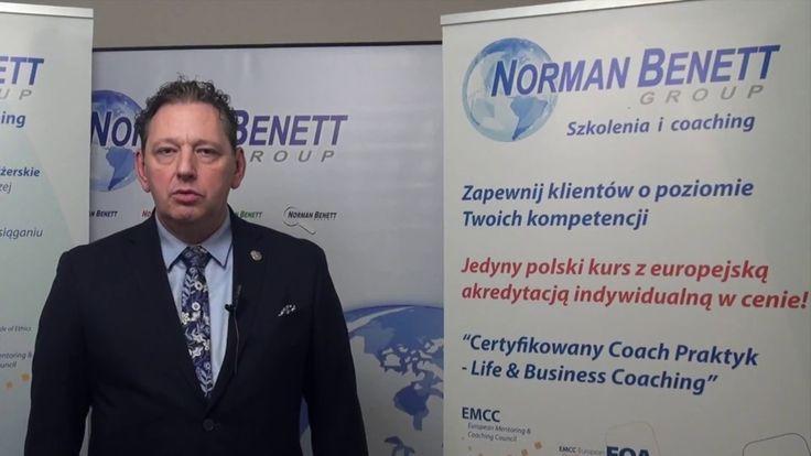 O kursie coachingowym w Norman Benett - Krzysztof Rumianowski