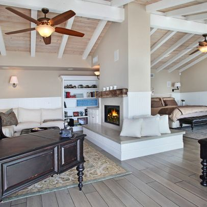 Fireplace Room Divider Design Ideas, Pictures, Remodel, and Decor