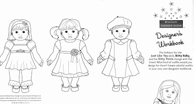 coloring pages for bitty babies american girl modern girls - Baby Girl Coloring Pages Kids