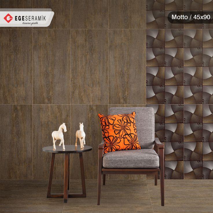 Doğal ahşap dokusunu seramik ile birleştiren Motto serisi, mekanlarınıza modern ve iddialı bir görünüm kazandırıyor.   Seri, 5 farklı renk seçeneği ve 2 farklı dekoru ile ayrıcalıklı özel alanlar oluşturuyor.