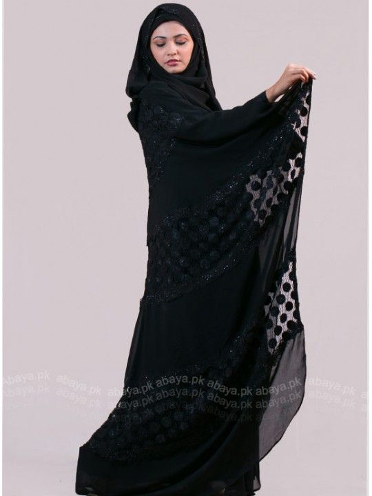 Have a look at the range of designer #Dubai_style_abaya available in numerous colour, shape and design.