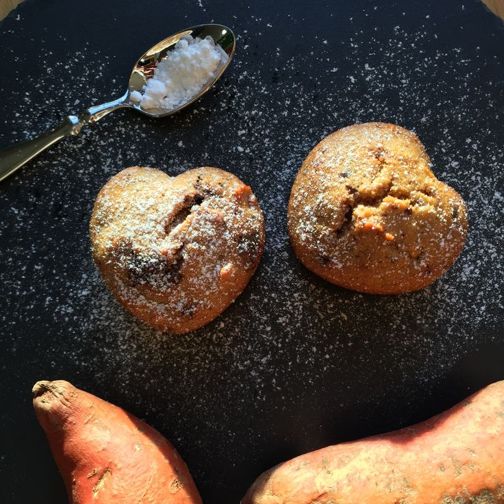 Lovely sweet potato muffins... try them out!