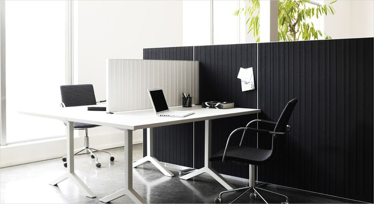 Alumi acoustic desk screen, partition and room divider. Akustisk bord skærm, rumdeler og skille væg.