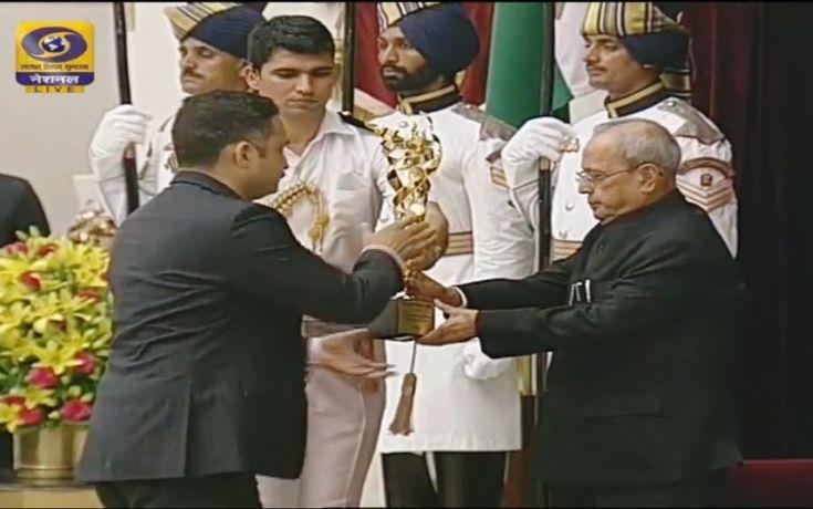 #STAIRS Receives Rashtriya Khel Protsahan Puraskar from President