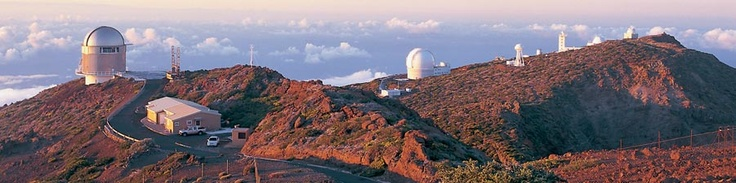 Roque de los Muchachos Observatory  is an astronomical observatory located in the municipality of Garafía on the island of La Palma in the Canary Islands. The observatory site is operated by the Instituto de Astrofísica de Canarias which is based on nearby Tenerife, and it is part of European Northern Observatory.