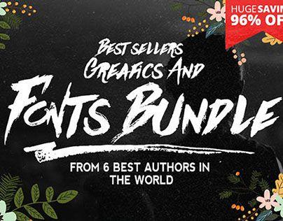 """查看此 @Behance 项目:""""Best sellers Fonts And Graphics""""https://www.behance.net/gallery/22706641/Best-sellers-Fonts-And-Graphics"""
