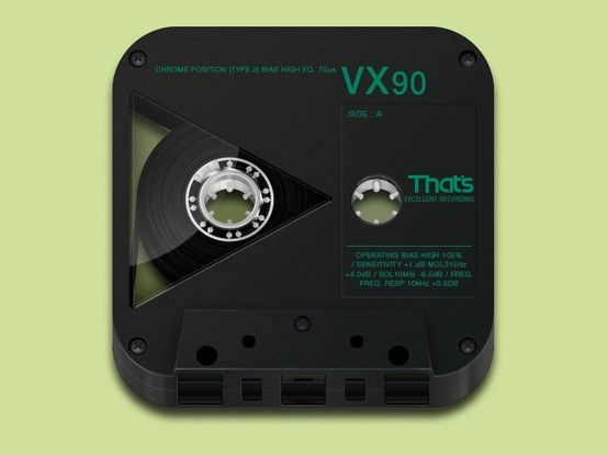 'That's' Cassette - by Michael Currie | #ui