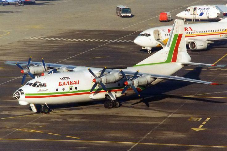 Balkan Cargo An-12B