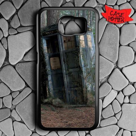Abandoned Tardis Doctor Who Samsung Galaxy S7 Black Case