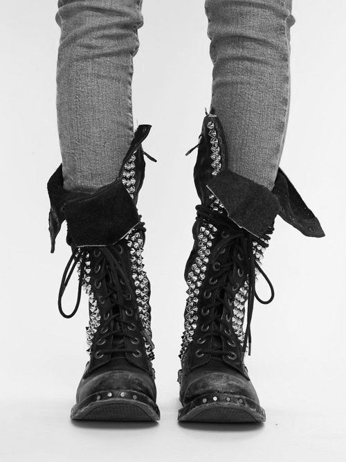 I don't know where I'm going to find these boots but I need them in my life, now.