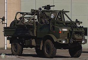 Unimog Спецназ Logistic платформа Карат обороны Паспорт описание характеристики разведывательная информация фотографии фото изображения индустрии высоких технологий военно-технического Бельгия Бельгийский обороны