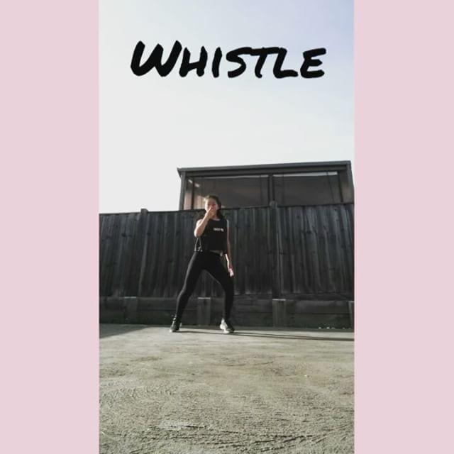 Whistle cover Whats you favourite kpop band?  #Kpop #kpopstar #twice #blackpink #exo #bigbang #jyp #ioi #playingwithfire #kpopcovers #dance #kpopdance #dancecovers #exid #aoa #yg #cube #clc #girlsgeneration #whistle #whistledance #whistlecover #blackpinkcovers