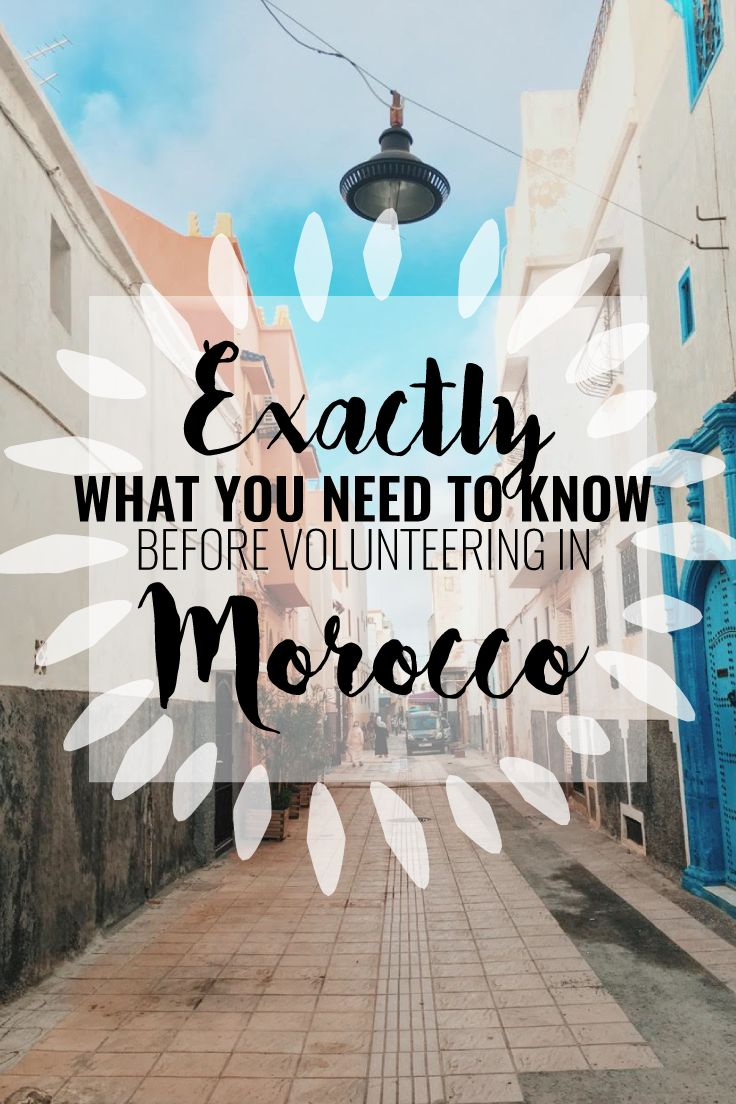 """So you are looking to volunteer in Morocco? Planning for a volunteer trip isn't as easy as we'd all like, especially one in a foreign country. There's no """"Volunteering in Morocco for Dummies"""" to be purchased, no time for a new language to be perfected, and certainly not enough suitcase space for everything you've laid out to be packed. Enter my how to volunteer in Morocco guide."""