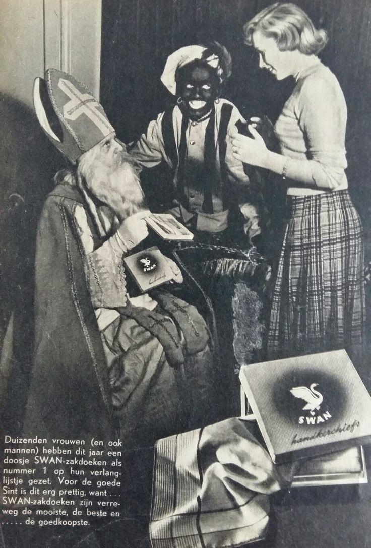 SWAN zakdoeken, Sinterklaas advertentie
