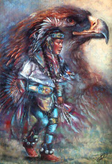 Eagle Dancer by Gloria West