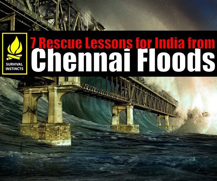Lessons to be Learned on Urban Indian Rescue Operations  Share and be aware, educated, and knowledgeable citizens.  0-72 hours is critical in any rescue operation; 99% disaster aftermath casualties occur during these hours. The massive floods in Chennai, brought around the reality of disasters in dense Indian urban grids, and the lessons we must learn.  This article is technical in nature and does not endorse, support, oppose, nor criticize any political views - nor is this an expose of any…