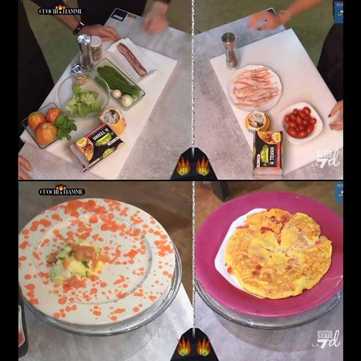 Creative ricette direttamente dai fornelli di Cuochi e fiamme
