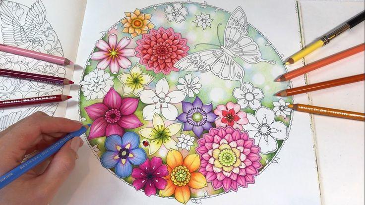 Secret Garden - Part 1 | Magical Jungle Coloring Book by Johanna Basford