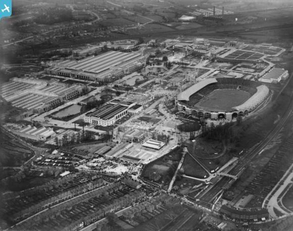Wembley Park and Stadium, Wembley, 1927