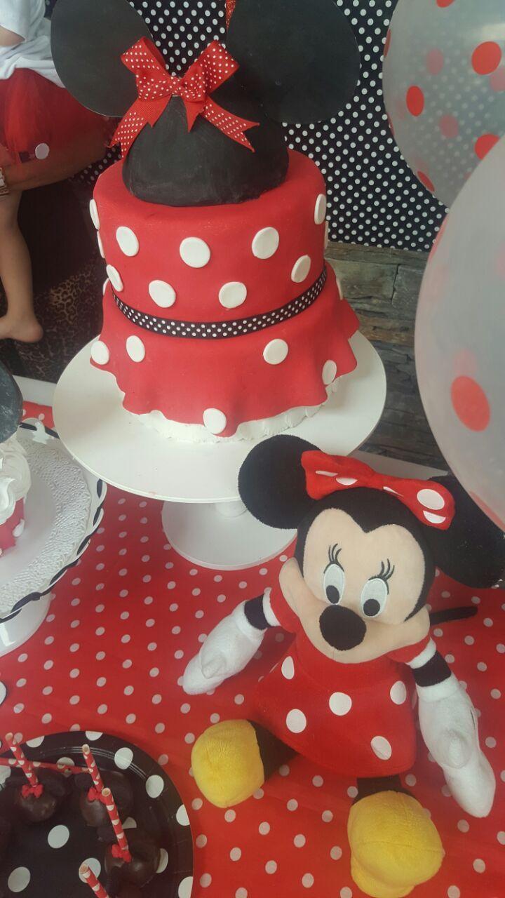Minnie cake bolo Minnie Torta Minnie #MinnieParty