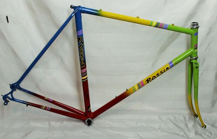 130€ Rossin Rennrad Rahmen RH55cm Stahl Retro | eBay