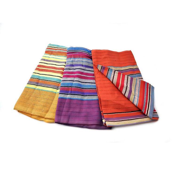 Set of 3 Terrace Striped Tea Towels