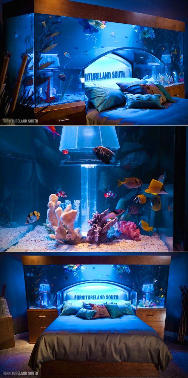 Aquarium Headboard the 25+ best fish tank bed ideas on pinterest | tanked aquariums