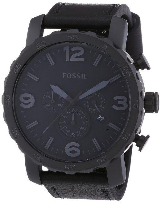Fossil Herren-Armbanduhr XL Trend Analog Leder JR1354: Amazon.de: Uhren  94,00