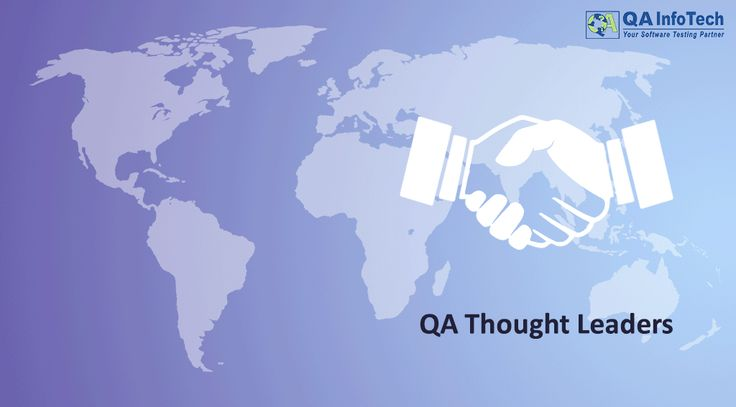 Calling out QA Thought Leaders across the globe to come and join one of the largest group of QA Testing professionals at https://www.linkedin.com/groups/3936004/profile Share you views, start discussions and connect experts.