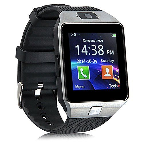 nice Padgene DZ09 Bluetooth Smart Watch with Camera for Samsung S5 / Note 2 / 3 / 4, Nexus 6, Htc, Sony and Other Android Smartphones, Black