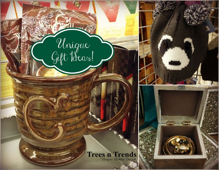 Unique Christmas Gift Ideas at Trees n Trends! http://blog