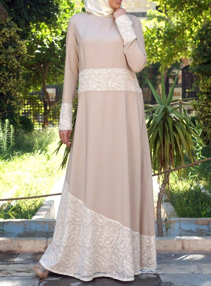 SHUKR USA | Paisley Lace Gown