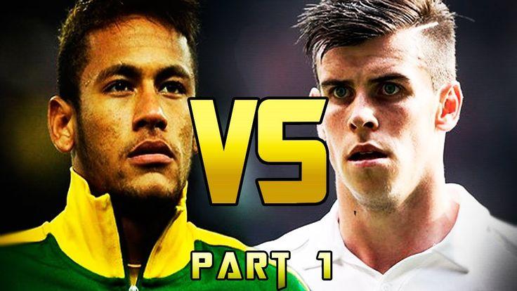 Neymar Jr vs Gareth Bale - Freestyle, Velocity & Dribbling - 2013 Pt.1
