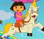 Dora Şekerli Ada, batman oyunları sitesindeki dora oyununda, dora beyaz atı ile binlerce şekerin bir arada bulunduğu adada şekerleri toplamaya çalışıyor. Yön tuşlarını ve boşluk tuşunu kullanarak şekerleri toplayın. Batman Oyunları Dora Şekerli Ada oyununda herkese iyi eğlenceler diler.