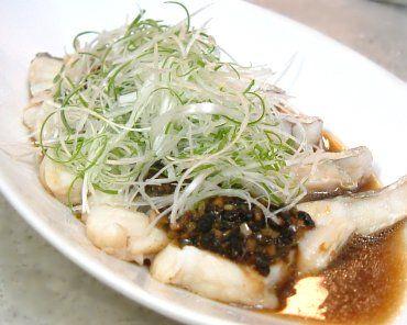 豆鼓蒸鱈魚
