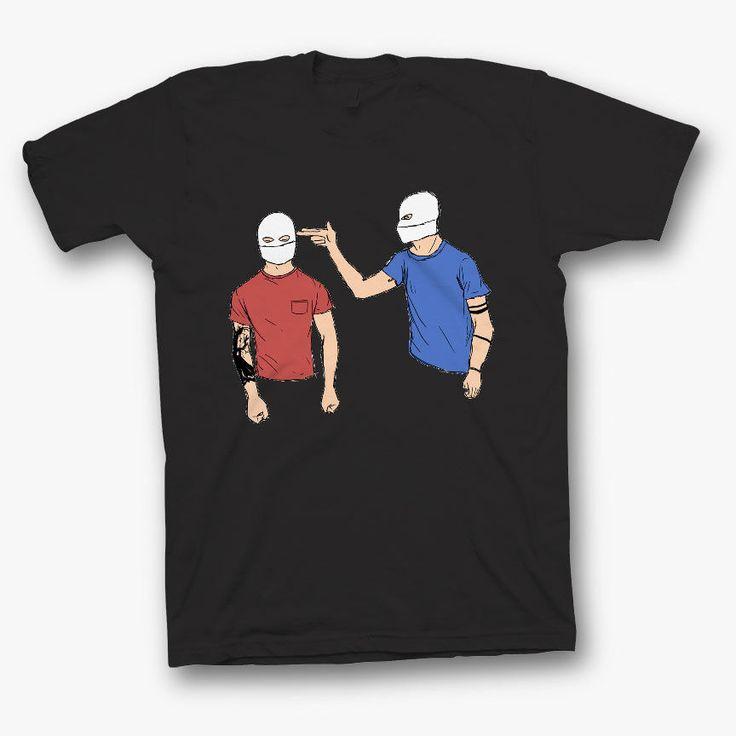 twenty one pilots shirt tshirt t-shirt top 21 pilots blurryface bars rock dunn #Unbranded #BasicTee