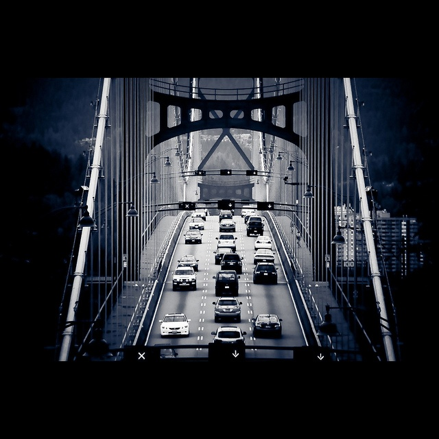 Lions Gate Bridge. Vancouver, BC #Vancouver #Bridge #City