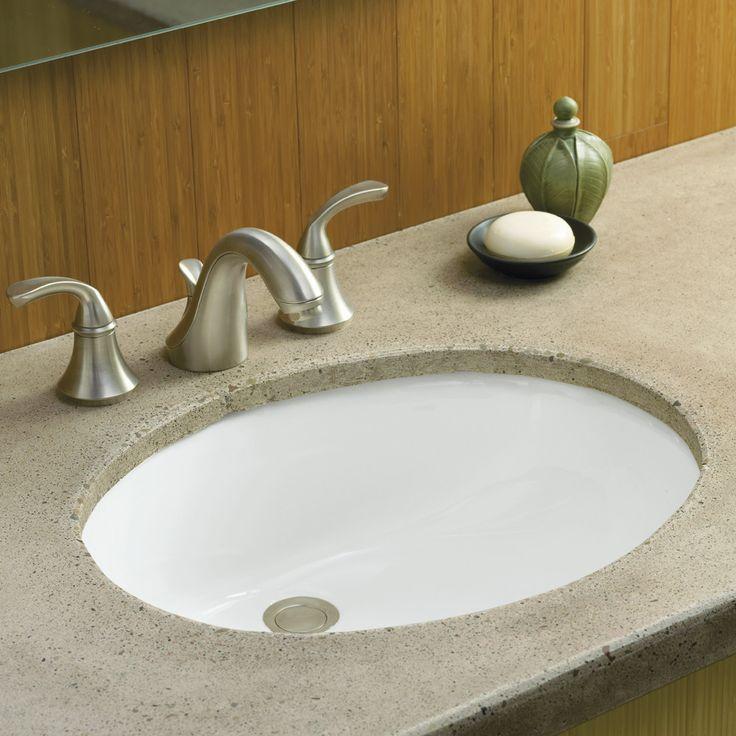 26 best undermount bathroom sinks images on pinterest | almonds