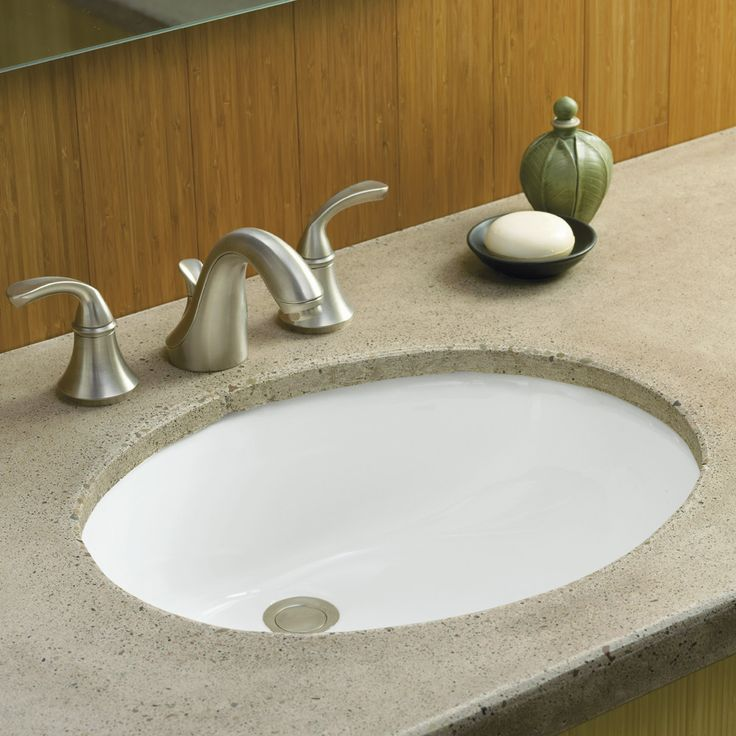 1000 images about undermount bathroom sinks on pinterest - How to install an undermount bathroom sink ...