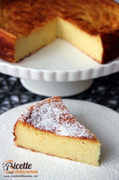 Gâteau à la ricotta et à la semoule