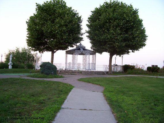 Crescent Beach Hotel Gazebo on Lake Ontario Shore Line Photo Taken by Carol Platt  You can use the image in any personal use or a gift use like