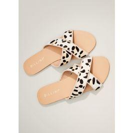 Marsala Slide - Snow Leopard - New Arrivals - Women's  - Women's & Men's Fashion - Peppermayo
