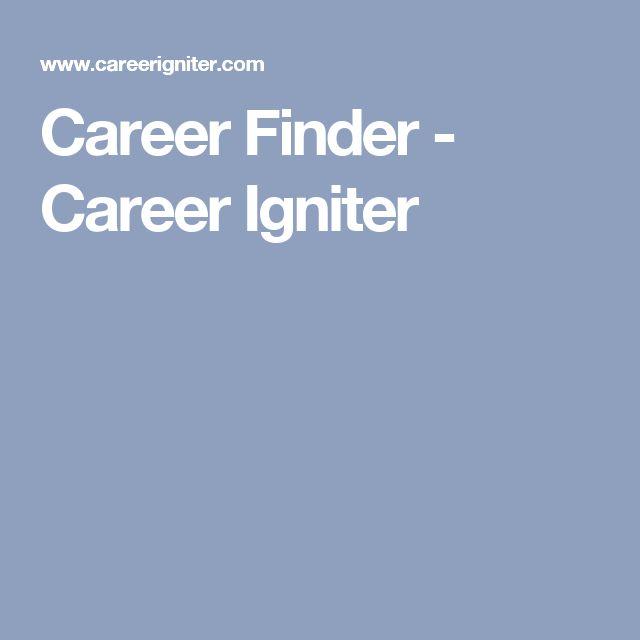 Career Finder - Career Igniter