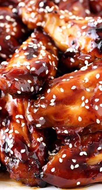 Honey Baked Teriyaki Chicken Wings