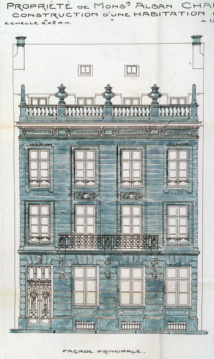 Ixelles - Rue Washington 37 - CHAMBON Alban