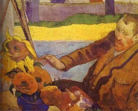 paul gauguin and vincent van gogh essay Paul gauguin - uses bright unrealistic colours influenced by the japanese and  medieval  sample essay: self portrait with bandaged ear by vincent van gogh .