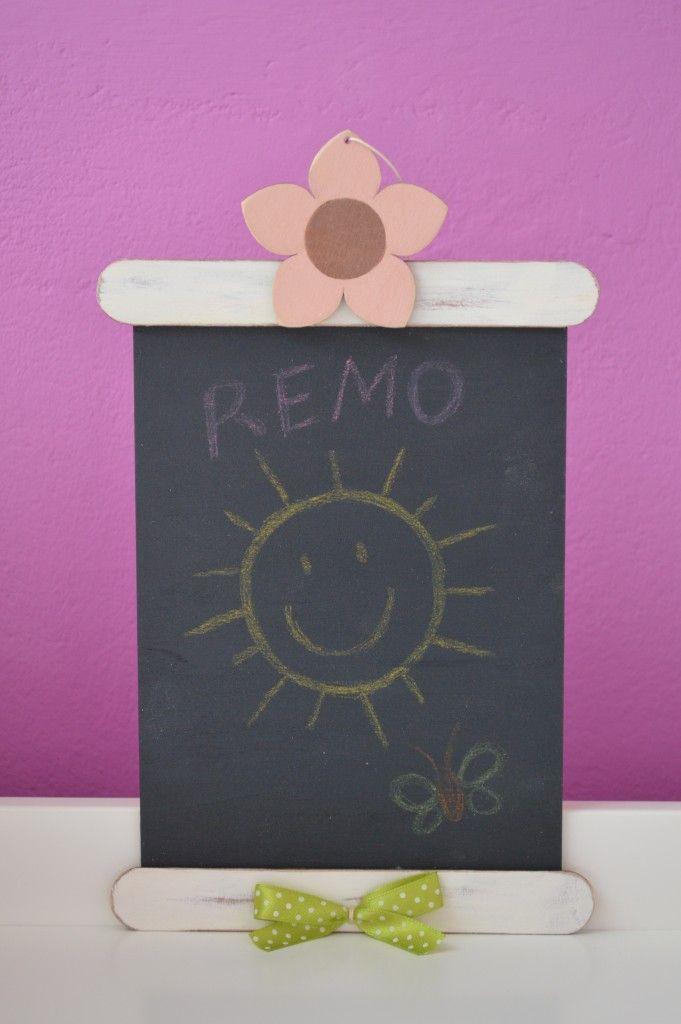 Készítsd jópofa üzenőtáblát a családodnak! Ha rákattintasz a képre, elolvashatod a részletes elkészítési leírást! :)